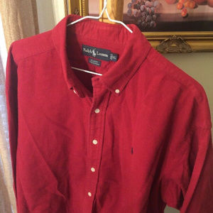 Ralph Lauren Blaire long sleeve Polo men's shirt X